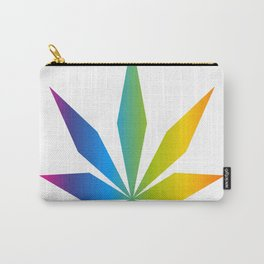 Cannabis Leaf (Full Spectrum) Carry-All Pouch
