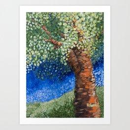 Park Tree Art Print