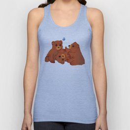 The Three Baby Bears Unisex Tank Top