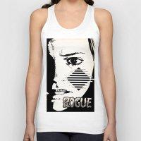 rogue Tank Tops featuring Rogue by Joellart