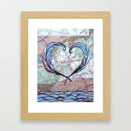 Asheville heART Framed Art Print