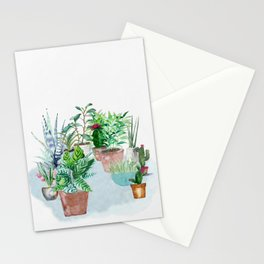 Plants 2 Stationery Cards