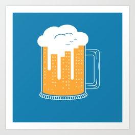 City Beer Art Print
