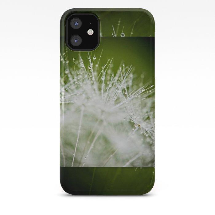 Dandelion Water Drop Macro 4 Iphone Case By Christinamvanginkel