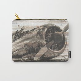 Old airplane 1 Carry-All Pouch