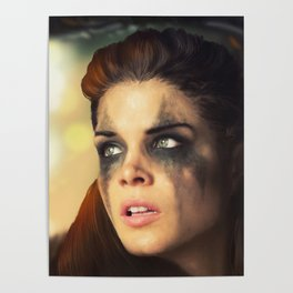 Octavia Blake. Marie Avgeropoulos The 100 Poster