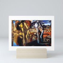 Salvador Dali Metamorphosis of Narcissus 1937 Artwork for Wall Art, Prints, Posters, Tshirts, Men, Women, Kids Mini Art Print