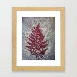 Fern Study 16 Framed Art Print