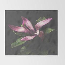 Magnolia Portrait Throw Blanket