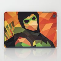 green arrow iPad Cases featuring DC Comics Green Arrow by Eric Dufresne