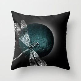 DRAGONFLY IV Throw Pillow