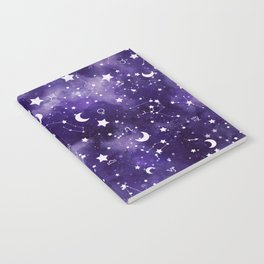 Zodiac Watercolor Ultraviolet Notebook