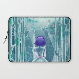 Girl under the sea Laptop Sleeve