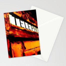 Peeling Telephone Box Stationery Cards