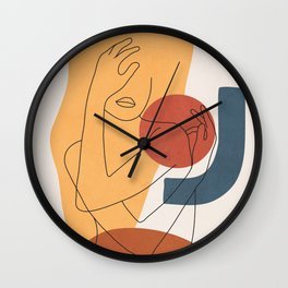 Colorful Movement II Wall Clock