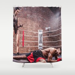 It's a Knockout Shower Curtain