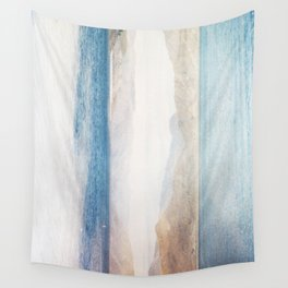 MM 332 . Gold Mountains x Ocean Sky Wall Tapestry