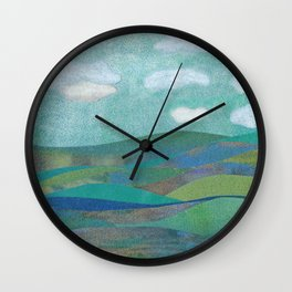 COLLAGE LOVE: Seascape Wall Clock