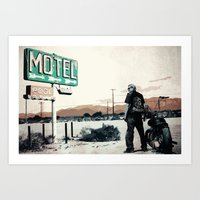 sons of anarchy Art Prints featuring Sons of Anarchy by PIXERS