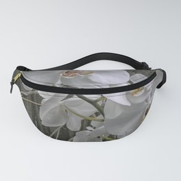 White Moth Orchid Fanny Pack