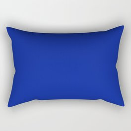 Indigo Dye - solid color Rectangular Pillow