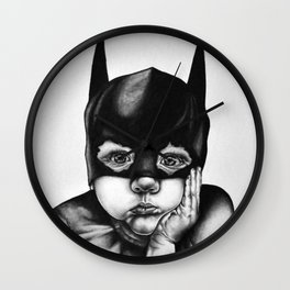 Waiting For a Hero Wall Clock