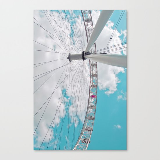 eye in the sky... Canvas Print