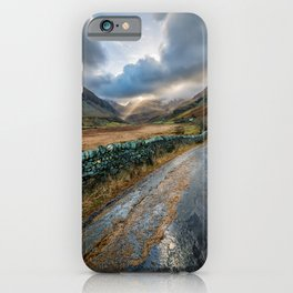 Valley Sunlight iPhone Case