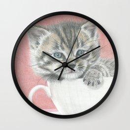 Cupcat Wall Clock