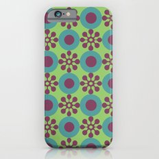 Retro Modern Flower Power Slim Case iPhone 6s
