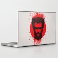 xmen Laptop & iPad Skins featuring Logan by Fimbis