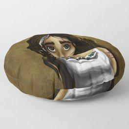 Princesa Azteca Floor Pillow
