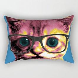 Pop Art Cat Rectangular Pillow