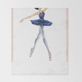 Ballerina Style Throw Blanket