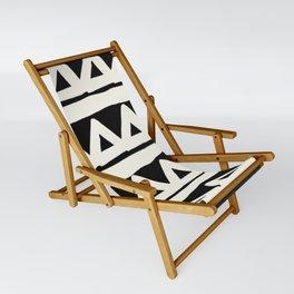 Tribal Chevron Stripes Sling Chair
