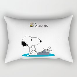 peanuts movie Rectangular Pillow