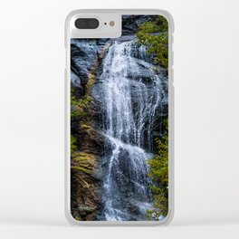Bridal Veil Falls Clear iPhone Case