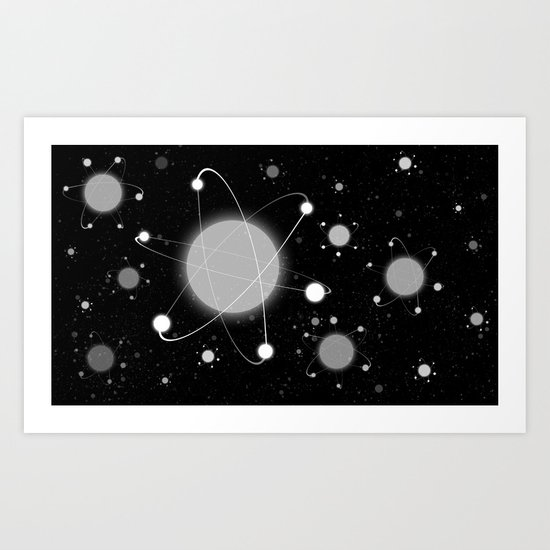 Everything in the Universe Art Print