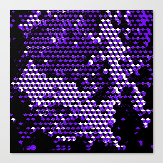 8byx_qbix Canvas Print