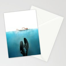Crescent Jaws Stationery Cards