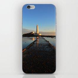 St Marys Lighthouse iPhone Skin