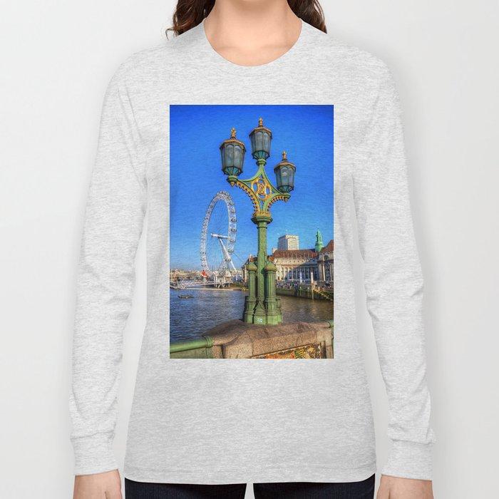 London Eye, London Long Sleeve T-shirt