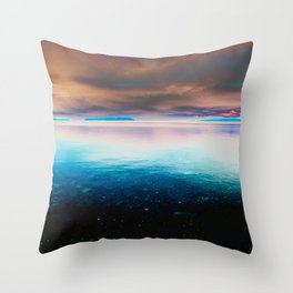 Sky of Dreams and The Ocean Throw Pillow