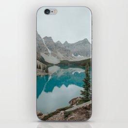 Moraine Lake, Banff National Park iPhone Skin