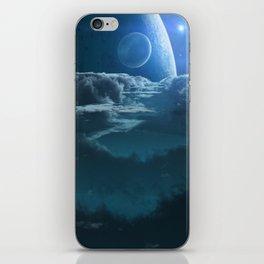 Alien Cloudscape iPhone Skin
