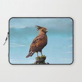 Long Crested Eagle Laptop Sleeve