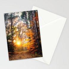 The Burning Stationery Cards