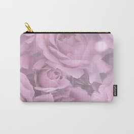 Pink Rose Bouquet Romantic Atmosphere #decor #society6 #buyart Carry-All Pouch