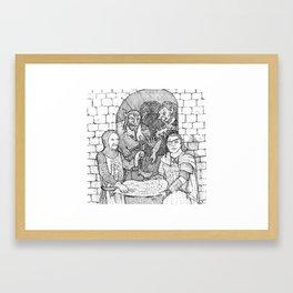 Bugbear Surprise Framed Art Print