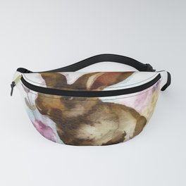 Lilac and Bunny Fanny Pack